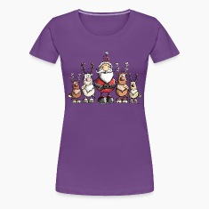 Santa Claus with reindeer T-Shirts