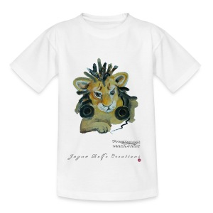 (EXCLUSIVE to FSS) Jayne Rolfe Creations - Dred Lion Cub 1 - Kids' T-Shirt - Kids' T-Shirt