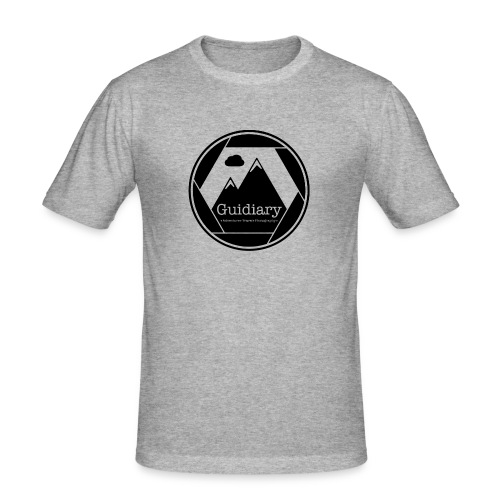Guidiary Icon - Men's Slim Fit T-Shirt