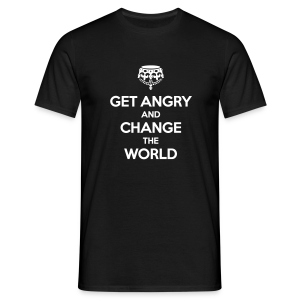 Get angry and change the world - Männer T-Shirt