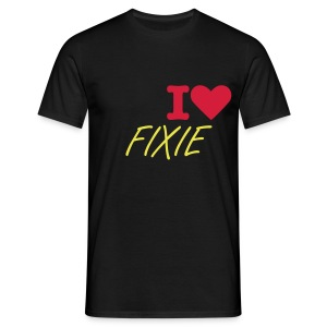 T SHIRT HOMME I LOVE FIXIE - T-shirt Homme