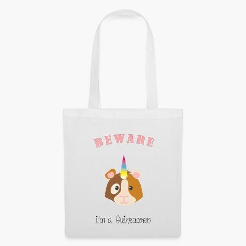 Beware, I'm a Guineacorn - Tote Bag