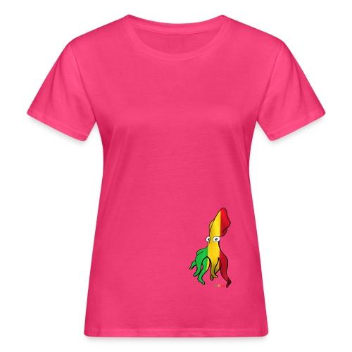 Bio Tshirt Squiddie Rasta   ELLE - T-shirt bio Femme