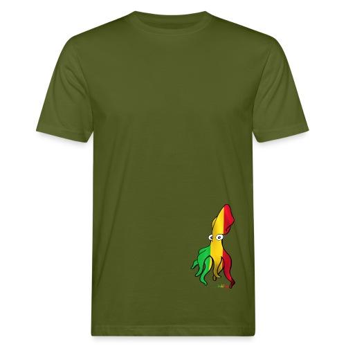 Bio Tshirt Squiddle Rasta LUI - T-shirt bio Homme