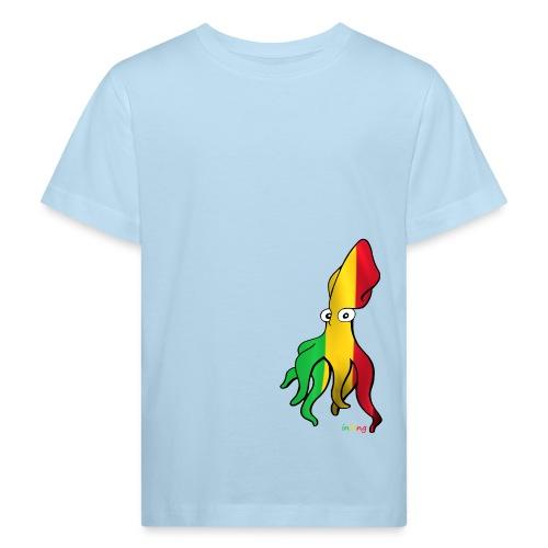 Bio Tshirt Squiddle Rasta KID - T-shirt bio Enfant