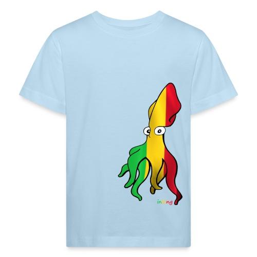 Bio Tshirt Squidder Rasta KID - T-shirt bio Enfant
