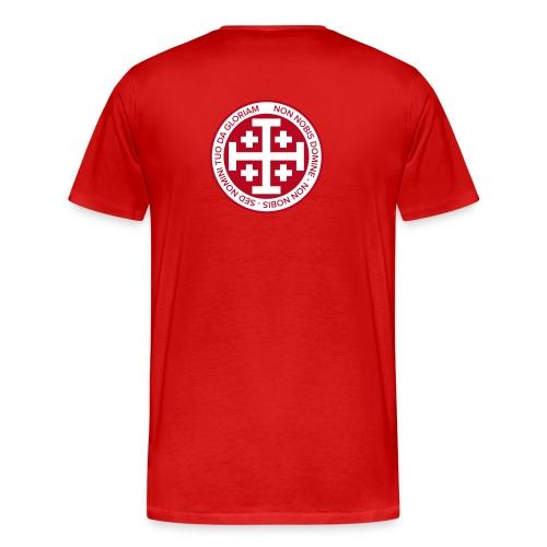 Exclusive Knight Templar t-shirt - Men's Premium T-Shirt