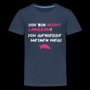Ich geniesse! - Teenager Premium T-Shirt