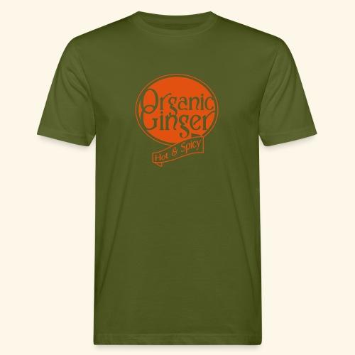 Organic Ginger1 - Tee Shirt Bio Organic - T-shirt bio Homme