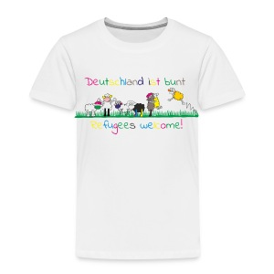 refugees welcome - Kinder Premium T-Shirt