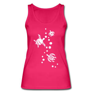 Seaturtle  - Frauen Bio Tank Top