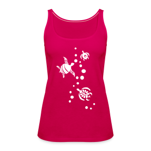 Seaturtle  - Frauen Premium Tank Top
