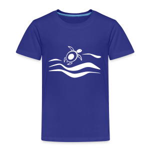 Sea Turtle in den Wellen - Kinder Premium T-Shirt