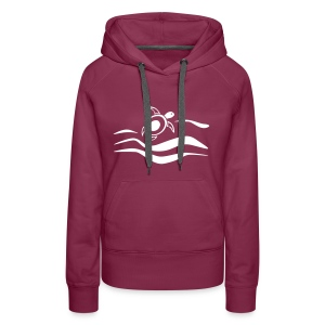 Sea Turtle in den Wellen  - Frauen Premium Hoodie