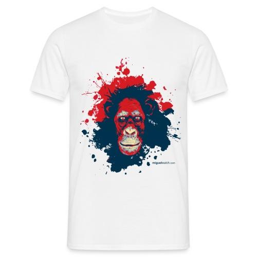 White Monkey - Männer T-Shirt