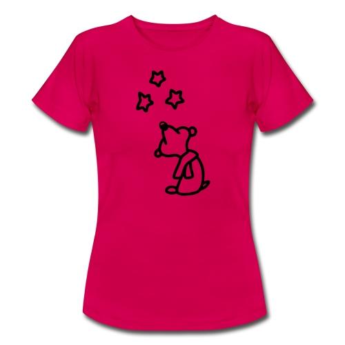 Bär - Sterne gucken - Frauen T-Shirt