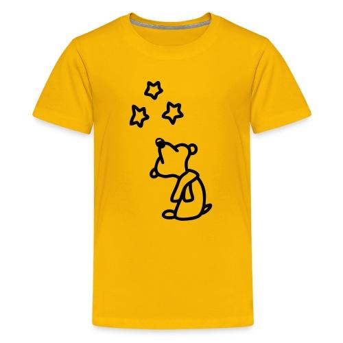 Bär - Sterne gucken  - Teenager Premium T-Shirt