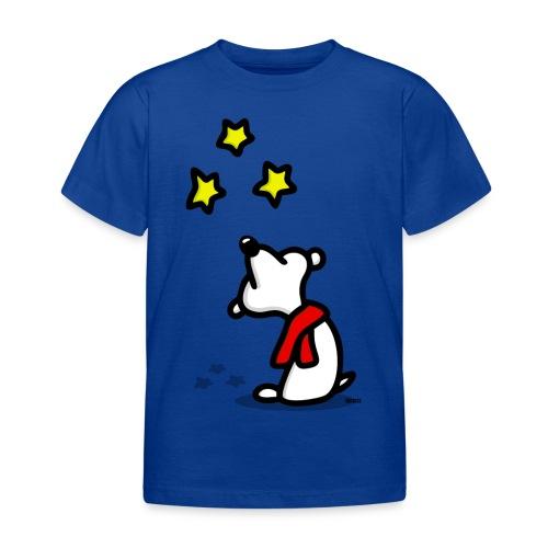 Bär - Sterne gucken png - Kinder T-Shirt