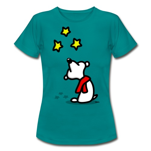 Bär - Sterne gucken png - Frauen T-Shirt