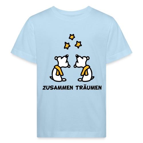 Zusammen träumen - V3 - Kinder Bio-T-Shirt