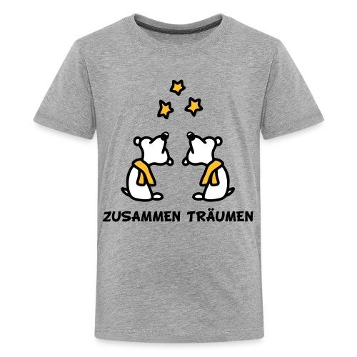 Zusammen träumen - V3 - Teenager Premium T-Shirt