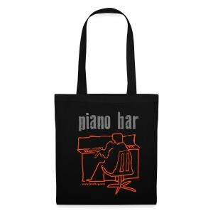 piano bar - Stoffbeutel