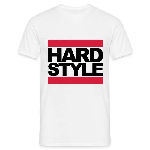 Hardstyle Raw Navy - Mannen T-shirt