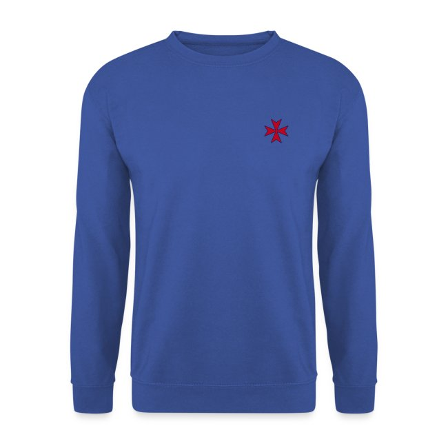 Maltese Cross sweater