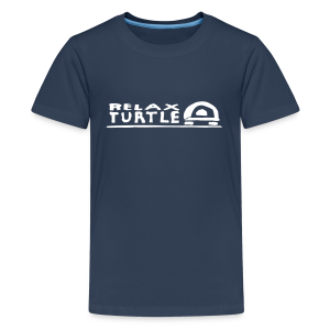 relaX turtle T-Shirt - Teenager Premium T-Shirt