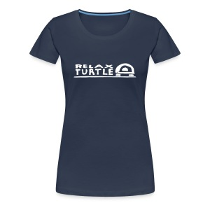 relaX turtle T-Shirt - Frauen Premium T-Shirt