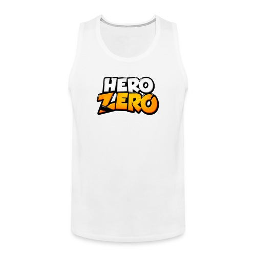 Hero Zero - Male Premium Tank Top - Men's Premium Tank Top