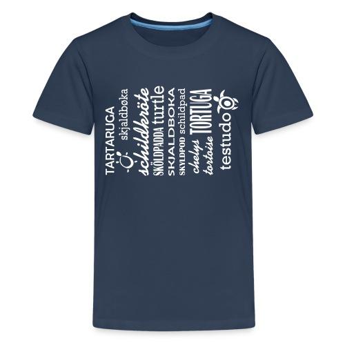 Schildkröten gibt es Überall - Teenager Premium T-Shirt