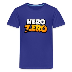 Hero Zero - Premium Teenager T-Shirt - Teenage Premium T-Shirt