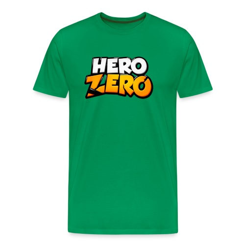 Hero Zero - Premium Male T-Shirt - Men's Premium T-Shirt