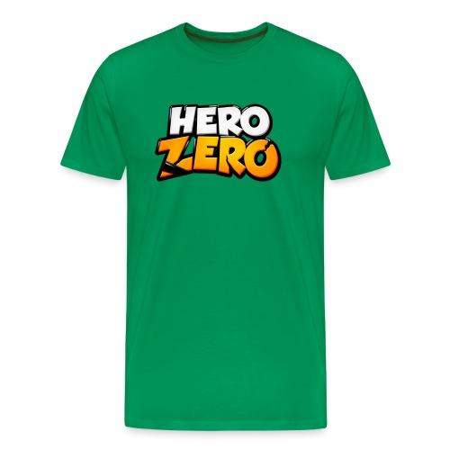 Hero Zero - Premium Male T-Shirt - Men's Premium T-Shirt