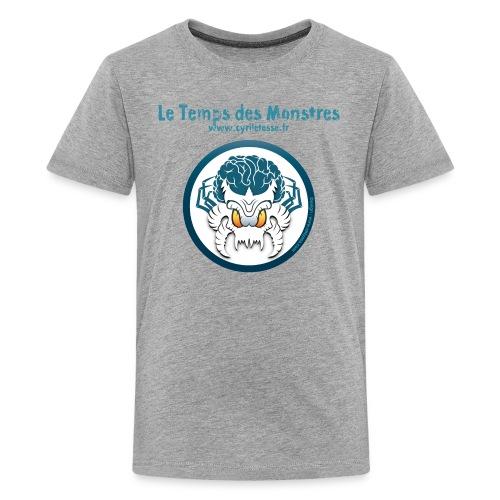 Tshirt Ado le Temps des monstres - T-shirt Premium Ado