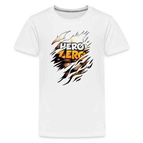 Hero Zero - Teenager Premium T-Shirt - Teenage Premium T-Shirt