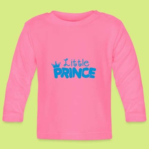 Baby Shirt langarm Prince - Baby Langarmshirt