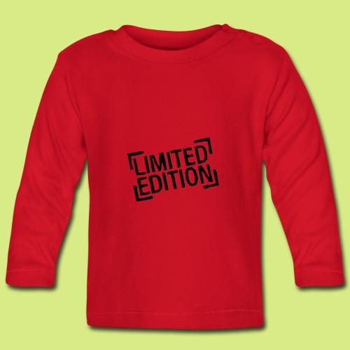 Baby Shirt langarm Limited Edition - Baby Langarmshirt