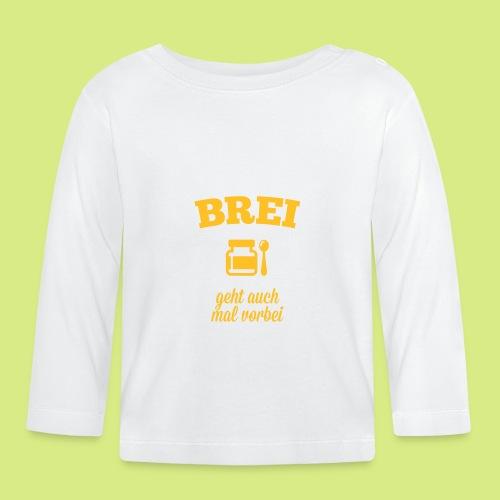 Baby Shirt langarm Brei - Baby Langarmshirt