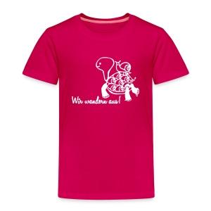 Wir wandern aus! - Kinder Premium T-Shirt