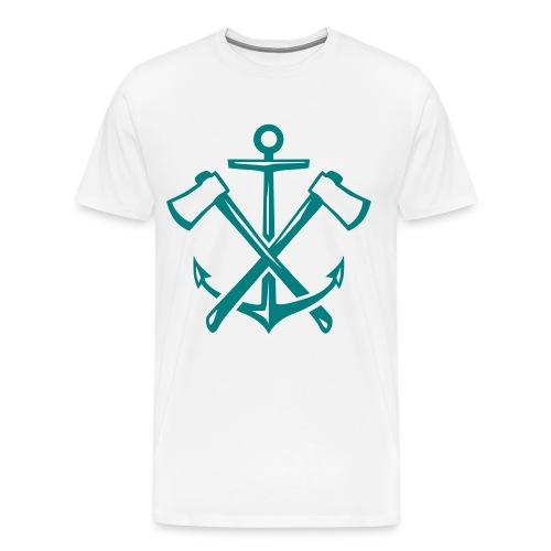 Anchor and Axes - Men's Premium T-Shirt