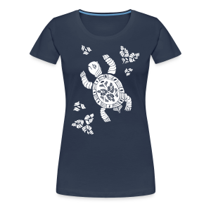 Indian Turtle  - Frauen Premium T-Shirt