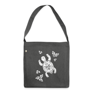 Indian Turtle  - Schultertasche aus Recycling-Material