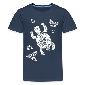 Indian Turtle  - Teenager Premium T-Shirt