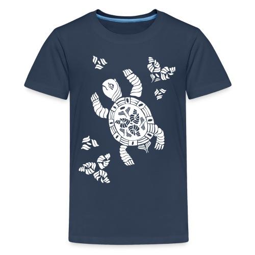 Indian Turtle  - Teenager Premium T-Shirt