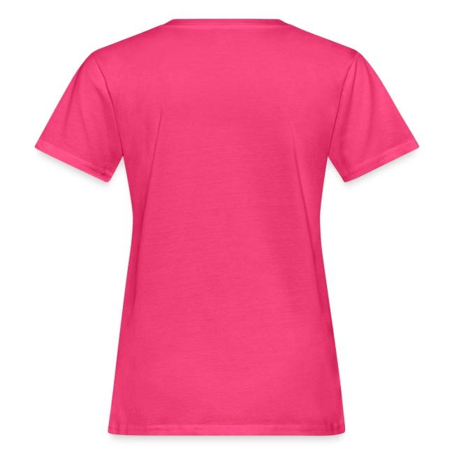 Damen T-Shirt kuscheliges Glücksschildi - Text individuell