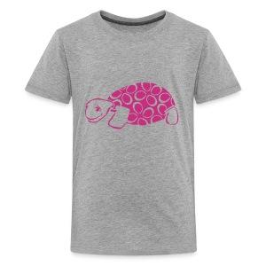 kuscheliges Glücksschildi - Text individuell - Teenager Premium T-Shirt