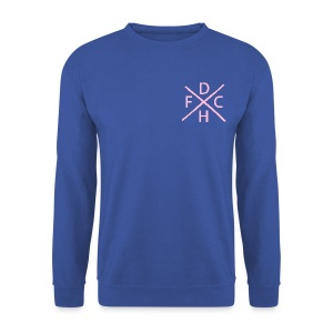 DHFC hard core left aligned - Men's Sweatshirt