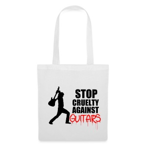 Stop Cruelty Against Guitars - Tote Bag